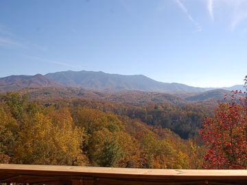 Gatlinburg cabin rental - View from the 3 Decks