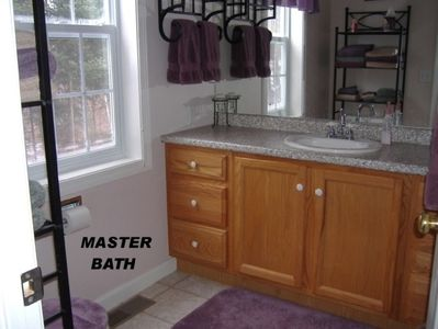 Franconia house rental - Master Bath