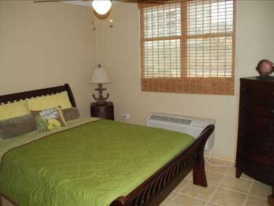 Fajardo condo rental - Guest Bedroom - Queen Mattress and Flat Screen TV!