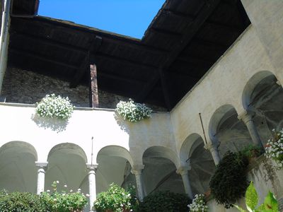 Renaissance palace in the heart of Valtellina