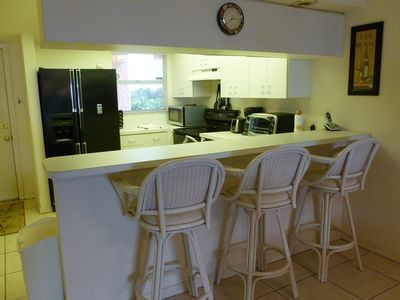 Counter with Barstools