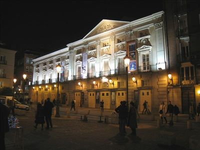 Surroundings - Santa Ana Square - Spanish Theatre