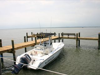 Chincoteague Island townhome photo - Dock your boat