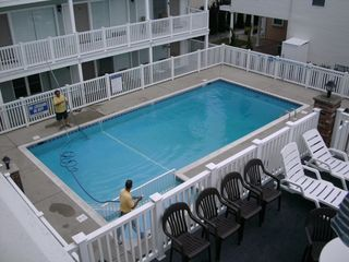 North Wildwood condo photo - Huge Pool! 8 Foot Deep