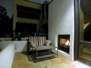 bay view terrace with fireplace - Mission Bay house vacation rental photo