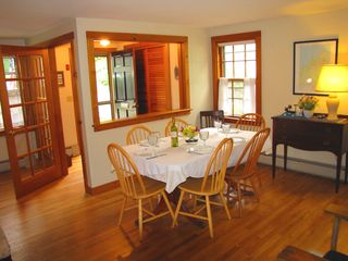 Vineyard Haven house photo - Dining room