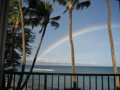 A morning Maui rainbow to start your day in Paradise.