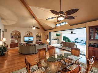 Kailua Kona house photo - Indoor - Outdoor Entertainment and Dining. Living at its best!