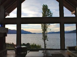 Bariloche house photo - Dusk, one of my favorite times of day.