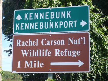Rachel Carson Nat'l Wildlife Refuge is nearby