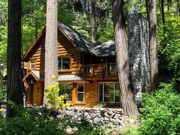 Lake Arrowhead cottage rental - BURNT MILL CANYON COTTAGE, EST. 1922, 6/1/2015