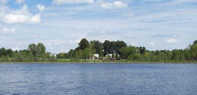 Property from the middle of the lake.
