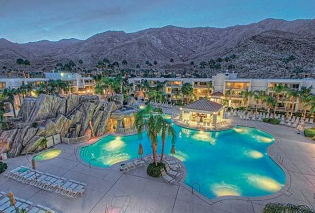 Palm springs luxury studio vrbo - Palm canyon resort 2 bedroom villa ...