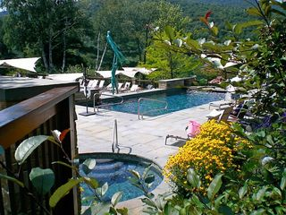 Stowe condo photo - Adult only Heated Pool & Jacuzzi