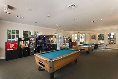 Windsor Palms condo rental - Pool tables, Air Hockey and Arcade games for the young at heart