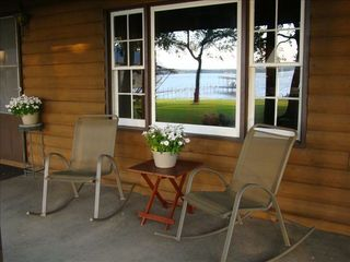 Eagle Mountain Lake house photo - These rockers are waiting for you!