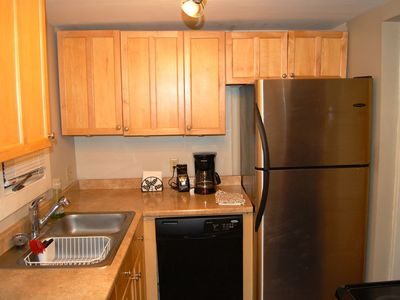 Fully Equipped Kitchen Has Dishwasher