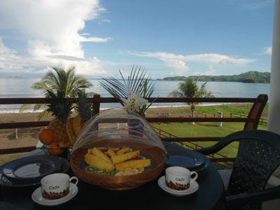 Your morning begins on the deck with delicious fruit and homemade breakfast!