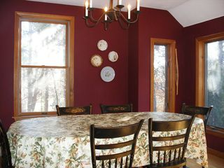 Eastham house photo - The dining room is bright and inviting.