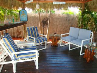 Fort Lauderdale house photo - The tiki hut is a shady escape when its time for a refreshing beverage.