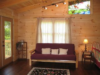 Pine Mountain cabin photo - Upstairs Loft with Futon