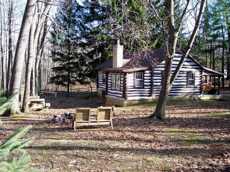 Authentic Log Cabin In Pennsylvania Mountains Vrbo