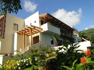 Dominical villa photo - Casa Buendia Entrance and Guest Bedroom Balcony