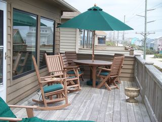 Surf City house photo - Back Deck