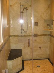 Lincoln City townhome photo - Master Bath Shower