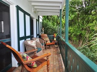 Coral Bay villa photo - Covered porch