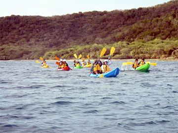 Kayaking at the Tamarindo Marine Reserve