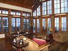 Panoramic Views from Living Room - Floor-to-Ceiling Windows, Balcony - Vail house vacation rental photo