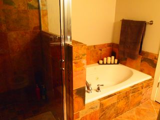 Bear Hollow Village condo photo - Slate shower and tub