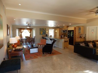 Palm Springs house rental - The great great room.