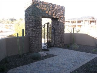 Fountain Hills house photo - Enter through front gate