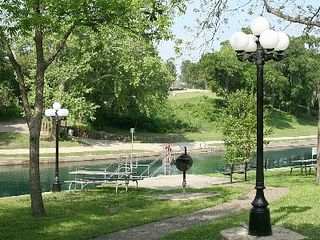 New Braunfels condo photo - It's great to swim in front of the grounds - not much traffic!