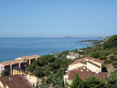Studio Ajaccio face Sanguinaires beautiful sea view