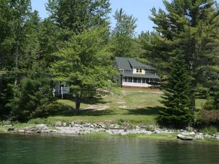 Lamoine cottage photo - DreamShore Cottage from the Ocean