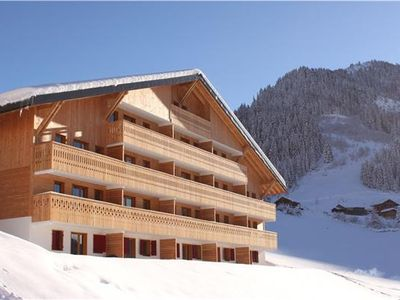 Apartment for 4 people, with swimming pool, in The Alps