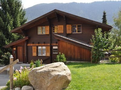 A spacious holiday home in a quiet location near Fiesch village centre.
