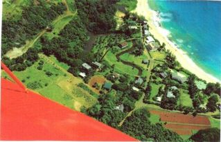 Moloaa Bay cottage photo - View from Above of Moloaa Community