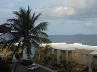 St. Croix condo photo - view to Buck Island National Park, rated # 1 snorkeling site in the world!