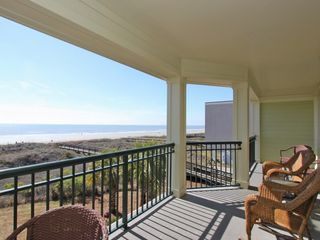 Isle of Palms condo photo - decking overlooking the ocean