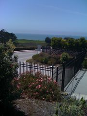 Half Moon Bay estate photo - Gate to beach just across the street from property