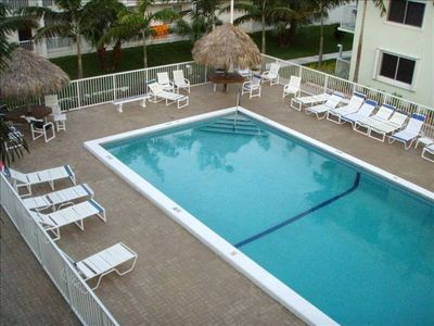 Key Colony Beach condo rental - Pool Side View