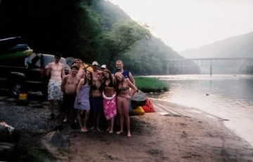 On a Guided Whitewater Excursion