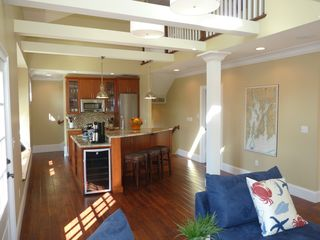 Newport condo photo - Enjoy the connectivity between the living room and the gourmet kitchen