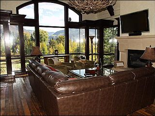 Aspen townhome photo - Living Room with Views