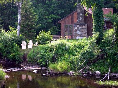 Killington house rental - On the river!