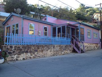 Bisbee house rental - Rose's Place on Brewery Gulch